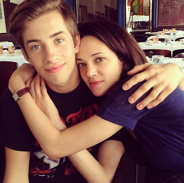 Argento and Bennett on May 9, 2013