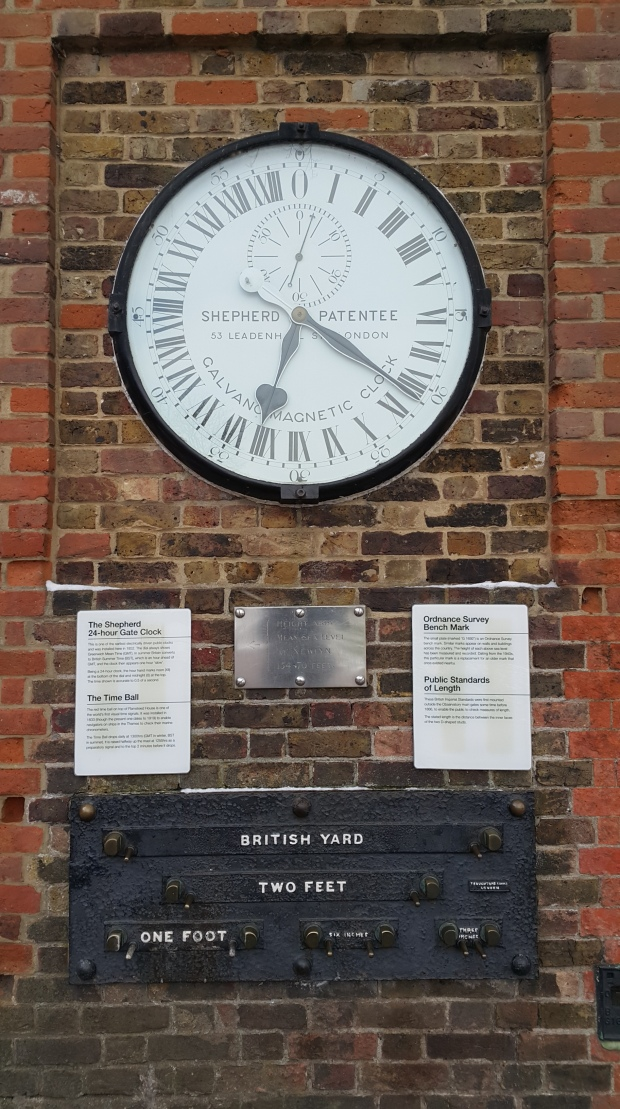 Shepherd Gate Clock at Observatory