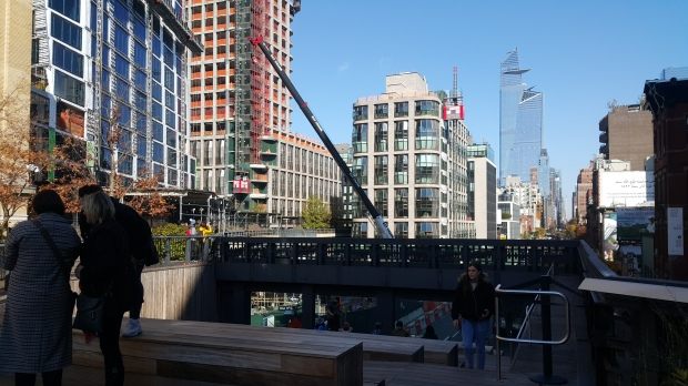 The High Line - Window Overlook at 10th Ave. & 17th St.